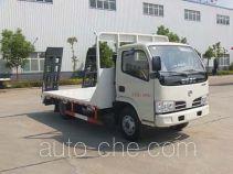 Huatong HCQ5041TPBDFA грузовик с плоской платформой