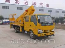 Huatong HCQ5070JGKQL aerial work platform truck