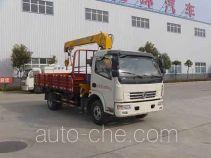 Huatong HCQ5080JSQDFA грузовик с краном-манипулятором (КМУ)
