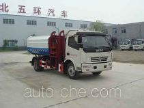 Huatong HCQ5081ZZZDFA self-loading garbage truck