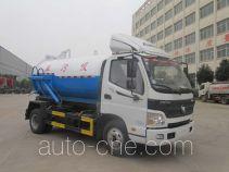 Huatong HCQ5089GXWB5 sewage suction truck