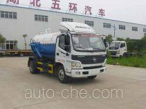Huatong HCQ5089GXWBJ sewage suction truck