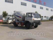 Huatong HCQ5120GJBSZ concrete mixer truck