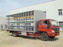 Huatong HCQ5159CYFB грузовой автомобиль для перевозки пчел (пчеловоз)
