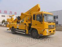 Huatong HCQ5160JGKBX5 aerial work platform truck