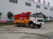 Huatong HCQ5161THBZ concrete pump truck