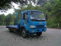 Huatong HCQ5161TPBCA грузовик с плоской платформой