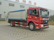 Huatong HCQ5163ZYSBJ garbage compactor truck