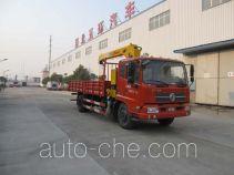 Huatong HCQ5166JSQDFL грузовик с краном-манипулятором (КМУ)