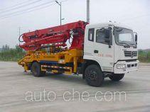 华通牌HCQ5196THBEQ型混凝土泵车