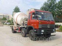 Huatong HCQ5258GJBEQ concrete mixer truck