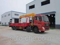 Huatong HCQ5312JSQA10 truck mounted loader crane