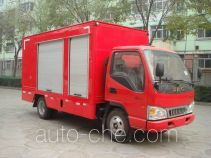 Mobile compressor vehicle