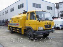 华建牌HDJ5100THBDF型混凝土泵车