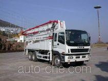 华建牌HDJ5251THBIS型混凝土泵车