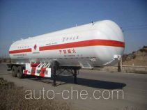Medium pressure gas tank trailer