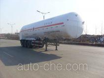 Baohuan HDS9400GDY liquefied gas tank trailer