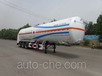 Liquefied natural gas (LNG) transport tank trailer