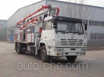 铁力士牌HDT5180THB-24/3型混凝土泵车