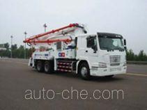 铁力士牌HDT5251THB-37/4型混凝土泵车