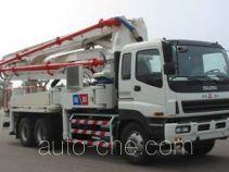 铁力士牌HDT5280THB-37/4型混凝土泵车