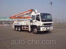 铁力士牌HDT5281THB型混凝土泵车