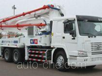 铁力士牌HDT5290THB-37/4型混凝土泵车