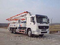 铁力士牌HDT5291THB型混凝土泵车