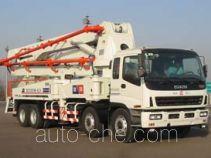 铁力士牌HDT5350THB-42/4型混凝土泵车