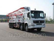 铁力士牌HDT5351THB-42/4型混凝土泵车