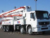 铁力士牌HDT5360THB-42/4型混凝土泵车
