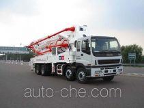 铁力士牌HDT5380THB型混凝土泵车