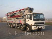 铁力士牌HDT5410THB-52/5型混凝土泵车