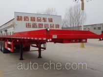 Enxin Shiye HEX9403ZZXPE flatbed dump trailer