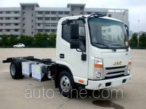 JAC HFC1061P73EV1C5 electric truck chassis
