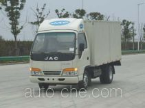 JAC Wuye HFC2810X2 low-speed cargo van truck