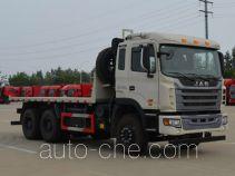 JAC flatbed dump truck