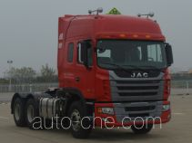JAC dangerous goods transport tractor unit