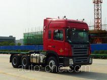 江淮牌HFC4251P1K6E33QXF型集装箱半挂牵引车