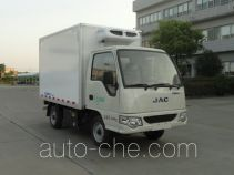 JAC HFC5020XLCEVZ electric refrigerated truck