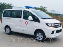 江淮牌HFC5026XJHRA1V型救护车
