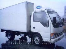JAC HFC5031XXYK2L box van truck