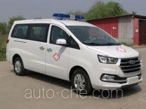 江淮牌HFC5036XJHLA1V型救护车