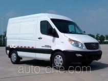 JAC HFC5039XXYK1MDF box van truck