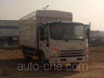 江淮牌HFC5040CCYP73K2B4V型仓栅式运输车