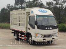 JAC HFC5040CCYP93K2B3V грузовик с решетчатым тент-каркасом
