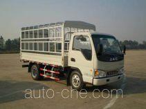江淮牌HFC5040CCYP93K1B4型仓栅式运输车