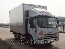 JAC HFC5043XYKP91K2C2V автофургон с подъемными бортами (фургон-бабочка)