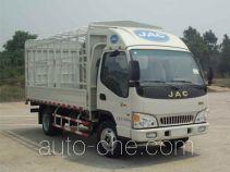 江淮牌HFC5045CCYP92K4C2型仓栅式运输车