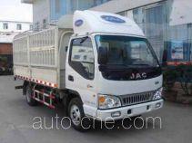 JAC HFC5045CCYP92K3C2 грузовик с решетчатым тент-каркасом